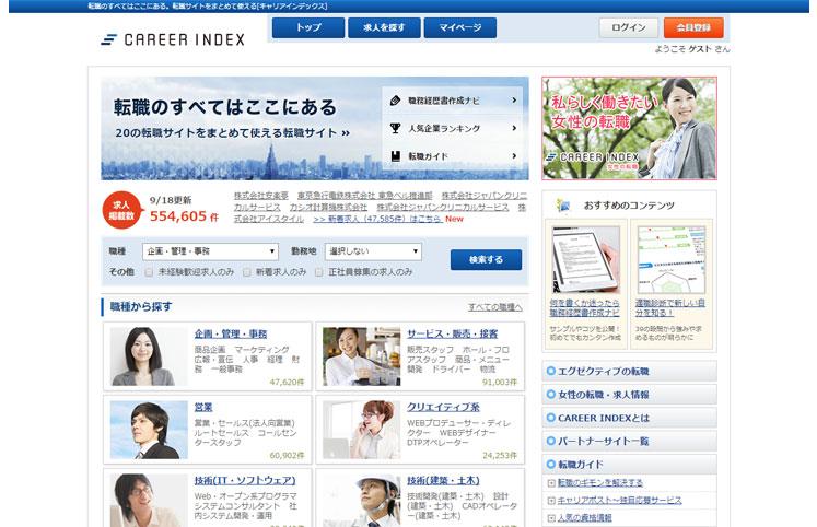 キャリアインデックス(CareerIndex)